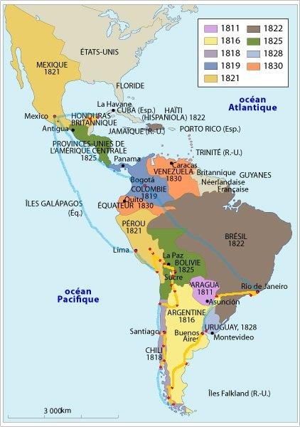 Pays les plus sûrs en Amérique latine